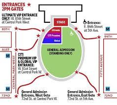Sunshine Music Festival Seating Chart Global Citizen Festival Faqs