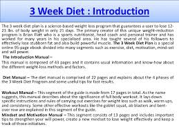 personal diet planner my personal 3 week diet system review