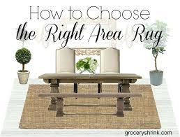how to choose an area rug rugs for open floor plan the right