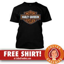free harley davidson t shirt julie s freebies