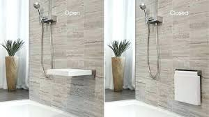 wall mounted shower chair wall mounted shower seat with drop down legs height garden design trend perfect the cube wall mounted shower wall mounted