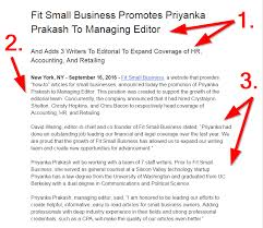 Press Release Examples Under Fontanacountryinn Com