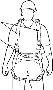 vancouvers best painters resource centre Fall Protection Harness Fall Protection Harness #80 fall protection harness diagram