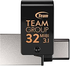 TEAMGROUP M181 32GB <b>OTG</b> USB 3.0 <b>Type C</b> Dual <b>Flash</b> Drive ...