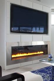 fireplace under tv amazing gallery collection built in linear electric for simple electric fireplace under corner