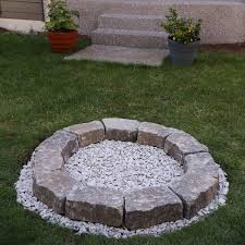 fire pit on existing paver patio