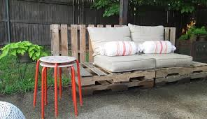 outdoor furniture from pallets. Delighful Furniture Wooden Pallet Sofa In Outdoor Furniture From Pallets