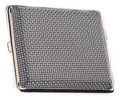 <b>Портсигар</b> (<b>черный с рисунком</b> квадратики) от S. Quire купить на ...