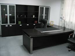 cool gray office furniture. Elegant Cool Black Theme Of Office Furniture Designed Using Spacious Table Design Ideas Gray L