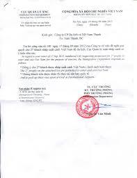 invitation letter for vietnam visa