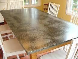 diy metal countertop best of zinc kitchen best zinc ideas on metal incredible zinc kitchen zinc
