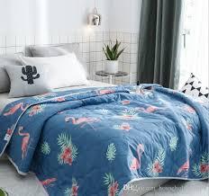 summer blanket for bed. Interesting Bed Garden Floral Bed Quilt Bedspread Flower Print Summer Quilts Cartoon Blanket  Kid Gift Home Decoration Kids  Inside For G