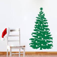 Christmas Wall Art Aliexpresscom Buy 2016 Merry Christmas Tree Home Decoration