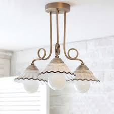 Image French Country Amonson Lighting French Provincial Light Ceiling Light