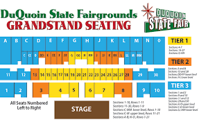 Duquoin State Fair Grandstand Seating Chart