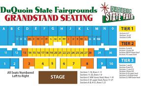 Iowa State Fair Grandstand Seating Chart Duquoin State Fair Grandstand Seating Chart