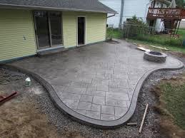 design of poured concrete patio stamped concrete patio decorative concrete patio outdoor remodel photos