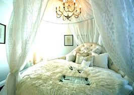 Sheer Canopy Drape Full Size Of Drapes White Bed Curtains For ...