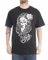 Fatal Clothing Designs 2019 Summer Cool Tee Shirt Fatal Clothing Veracruz Mens Black Short Sleeve Motorcycle Biker Muerta T Shirt Funny T Shirt Shirts T Shirts T Shirts And