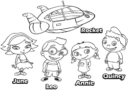 Small Picture Little Einsteins Coloring Pages coloringsuitecom