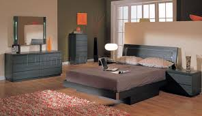 Modern bedroom furniture with storage Bed Furniture Depot Ash Finish Contemporary Bedroom Set With Storage Bed