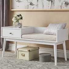 Bedroom Furniture  Home Bedroom Furniture Modern Mudroom Bench - Modern retro bedroom