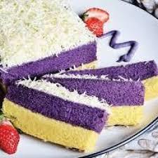 Resep Kue Lapis Talas Bogor Praktis Resep Hari Ini