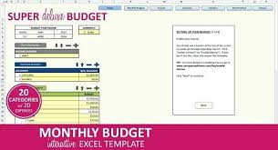 Budget Excel Template Mac Monthly Budget Excel Template Mac Bestuniversities Info