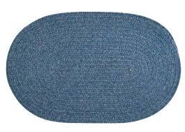 denim braided rug wool blend oval braided rug federal blue made in braided denim rag rugs