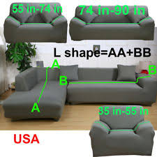 sectional covers. Simple Covers L Shape 1 2 3 4 Seater Stretch Cover Couch Slipcover For Sectional Corner  Sofa On Covers