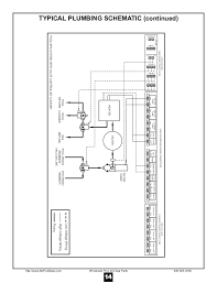 hayward controls 2100 14 typical plumbing schematic