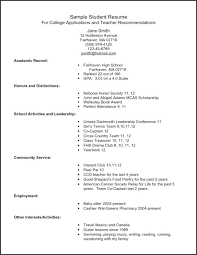 How Do You Write A Resume For College Full Size Of How To Write A Enchanting Resume Playing Music