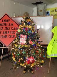 office christmas theme. Construction Theme Christmas Tree Office F