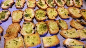 Resultado de imagen de tostadas de pan al horno