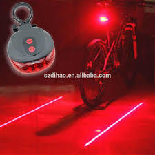Dihao New Bicycle Accessories Rear Light Silver Skull Cycling Bike Bicycle Laser Rear Tail Light 2led 7 Modes Lamp Flash Bicycle Buy Laser Flash