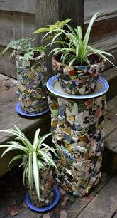 Small Picture 80 best Mosaic Pots images on Pinterest Mosaic flower pots