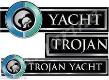 trojan boat trojan boat custom decals 16 inch long when combined