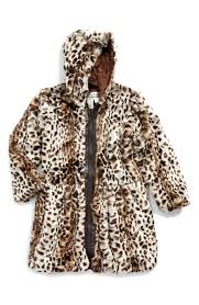 cheetah faux fur coat cheetah print faux fur coat toddler girls little girls big girls