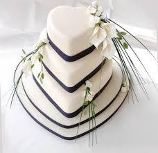 Heart Wedding Cake Timeless Cakes