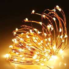 Warm White Led String Lights White Wire 100 Warm White Led Copper Wire Micro Fairy Lights With 5v Adaptor