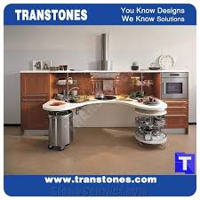bow boat design quartz stone kitchen worktops binaco artificial marble counter tops engineered stone panel for desk solid surface panel glass stone bench