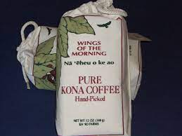 Kona coffee beans (not 'cona coffee') are one of the most expensive coffees in the world. Hawaiian Kona Wings Of The Morning