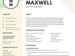 Free Creative Resume Builder Creative Resume Builder Creating A
