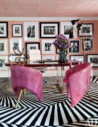 pink monogram pillow 3 black dots print 4 polka dot journal 5 polka dot candle 6 lucite arm chair 7 white lacquered desk 8 tortoise s box 9