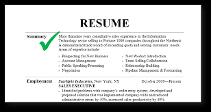 Resume Summary Examples Samples Entry Level For Students Restaurant