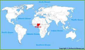 nigeria maps  maps of nigeria