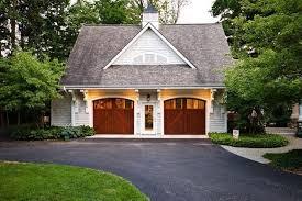 cottage garage doorsCottage Garage with Transom window  Concrete floors  Zillow Digs