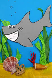 Free Craft Printables Templates Shark Craft For Preschool And Kindergarten With Free Shark