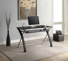 pottery barn office furniture. Stunning Impressive Black Table Pottery Barn Office Furniture And Gorgeous Grey Wall Paint V