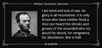 Tecumseh Quotes Custom TOP 48 QUOTES BY WILLIAM TECUMSEH SHERMAN Of 48 AZ Quotes